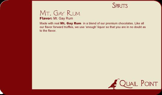 23 Mt Gay Rum